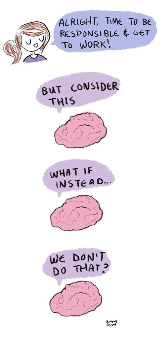 Brain Says No