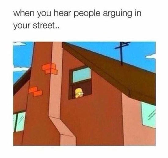 Arguing In Your Street