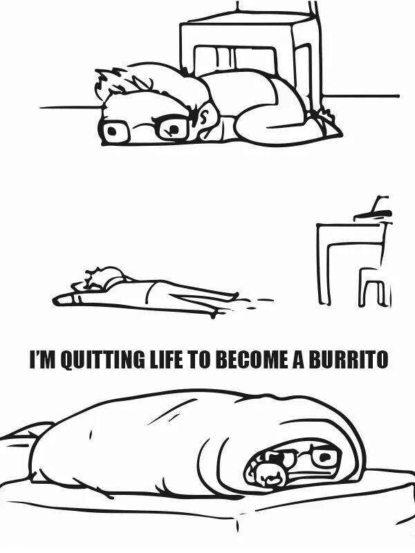 Human Burrito
