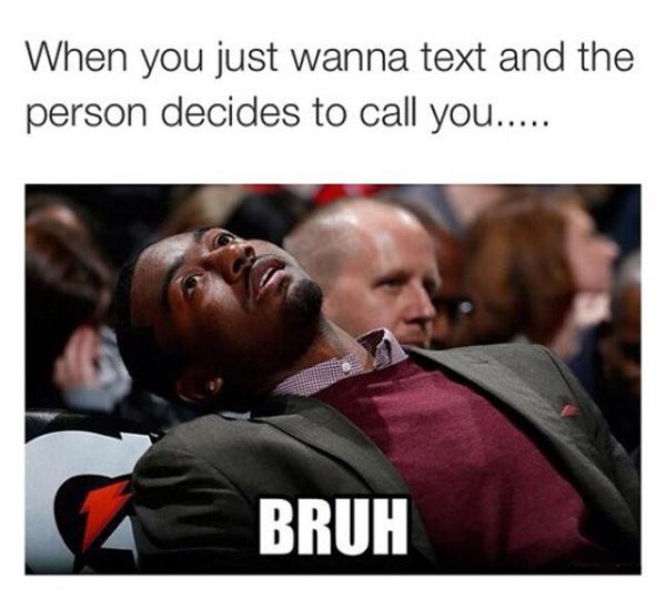 Just Wanna Text