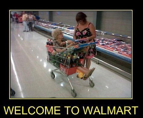 Grandma Shopping